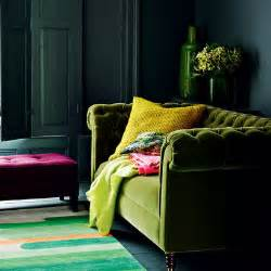Green Velvet Living Room Rooms To Match My Mood And Brooding Eamonn And
