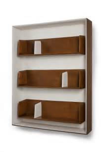 Wooden Bookshelf Designs India by Unique Wood Wall Shelves Best Decor Things