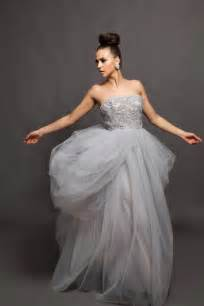 wedding dresses grey wedding gown grey wedding dress alva beaded by