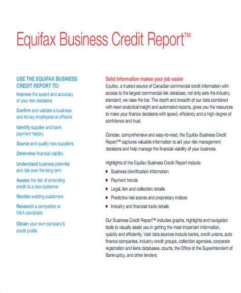 credit analysis report sle top 28 sle credit report credit report catalogues