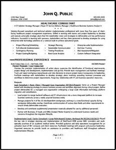 Consulting Resumes Exles by Healthcare Consultant Resume Sle The Resume Clinic