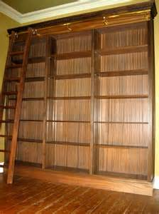 library bookcases with ladder bookshelves amp libraries