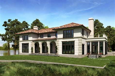 Mediterranean House Plan by Mediterranean House Plans With Photos