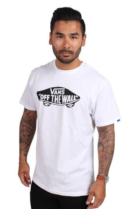T Shirt Vans White The Wall vans the wall t shirt white black minstil dk