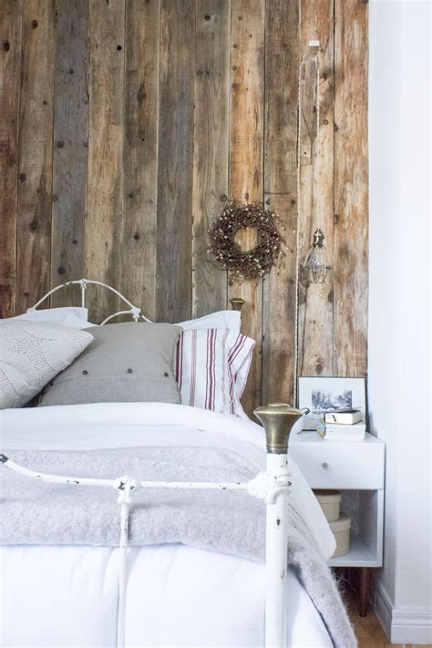 barn wood wall plank how to clean prep install reclaimed wood plank walls