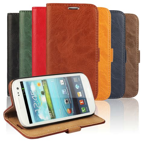 Sale Sarung Flip Cover For Samsung Galaxy S3 I9300 Motif new sale flip genuine leather for samsung galaxy s3