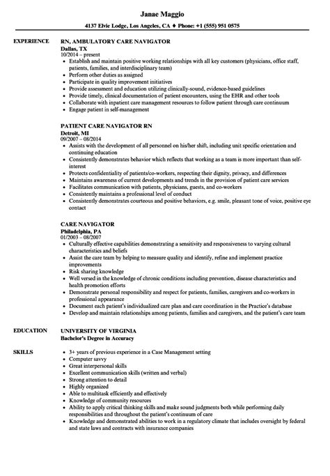 resume sles for cleaning navigator resume health navigator resume exle idaho