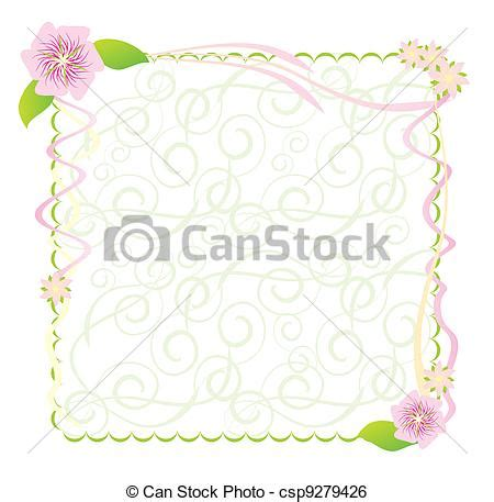 fiori illustrazioni archivio illustrazioni di cornice fiori fiori
