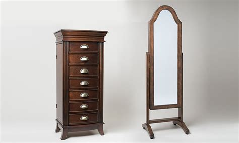 emma jewelry armoire hives and honey jewelry armoire or jewelry mirror armoire