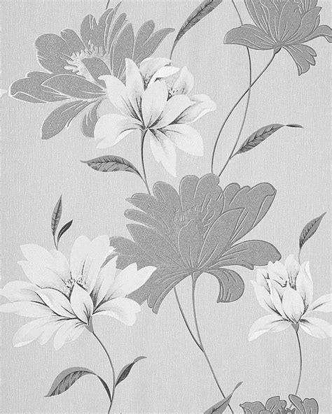 light grey wallpaper trees wall wallpaper floral vinyl wall covering edem 168 36