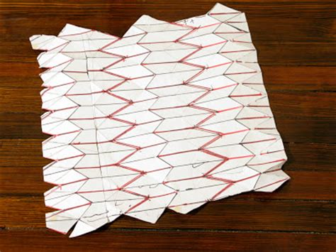 3d Paper Folding Templates - folding paper patterns lena patterns