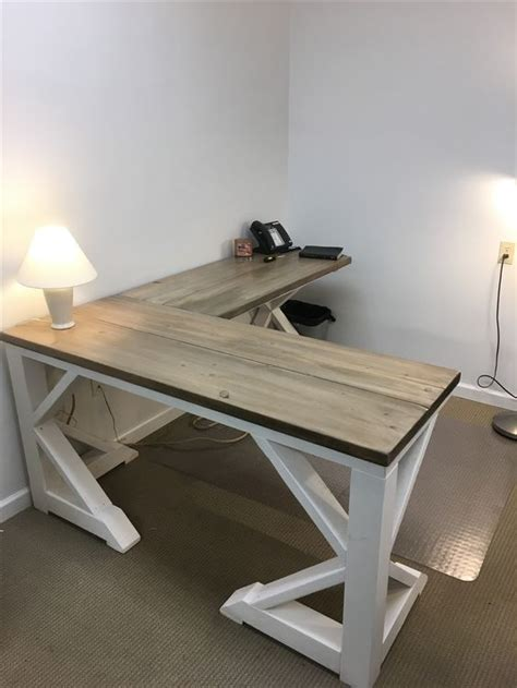 diy l shaped desk best 25 rustic desk ideas on rustic computer