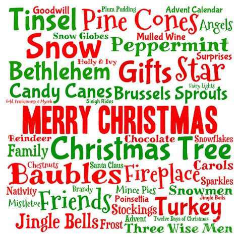 images of christmas words traditional christmas words digital art by annalisa cromie