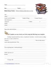 Book Report Essays by 5 Paragraph Essay Book Report Form What Teachers Need