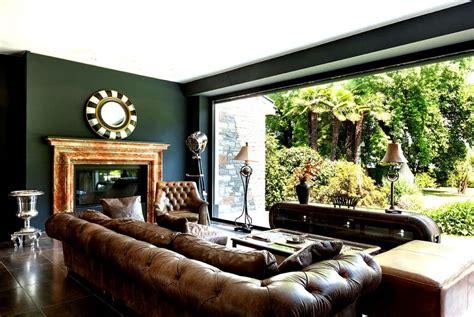 Zimmer Einrichten Ideen 5004 by Chesterfield Sofas Kombiniert Mit Alten Englischen Farben