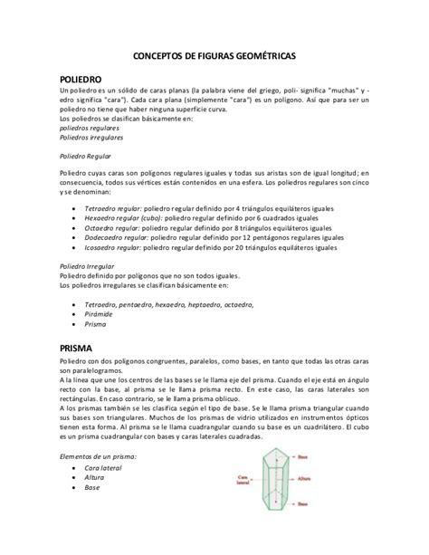figuras geometricas concepto conceptos de figuras geom 233 tricas