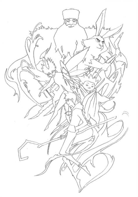 Rise Of The Guardians Pictures Coloring Home Guardian Coloring Page