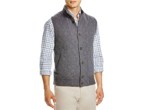 grey knit vest the s store at bloomingdale s knit vest in