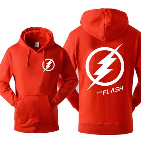 Hoodie Flash Wisata Fashion Shop the flash unisex pullover mens pocket hoodie clothing