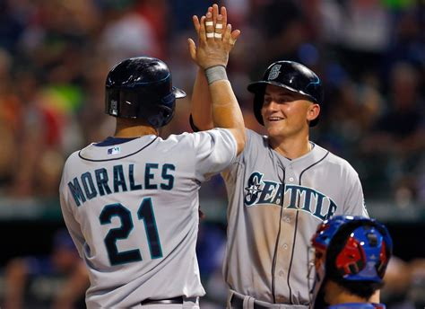 seattle mariners v rangers zimbio