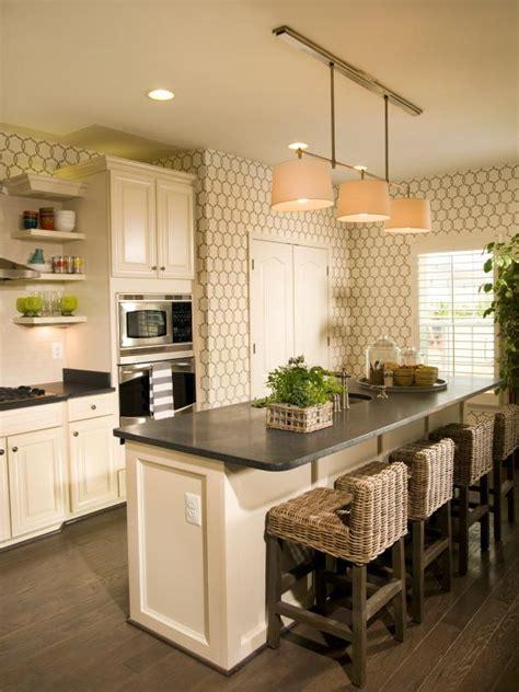 cottage kitchen wallpaper photo page hgtv