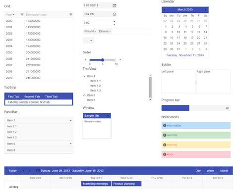 kendo mobile widgets kendo ui q3 2014 release
