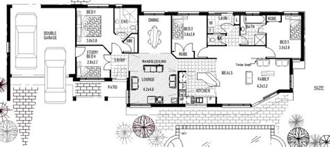Split Floor Plan House Plans corner block home plans houses includes some of the most