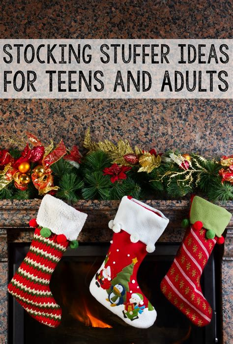 great stocking stuffer ideas great stocking stuffer ideas for teens and adults that