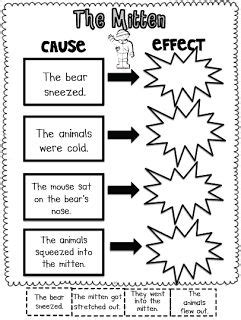 Cause And Effect Worksheets For Middle School by 17 Best Ideas About Jan Brett On The Mitten
