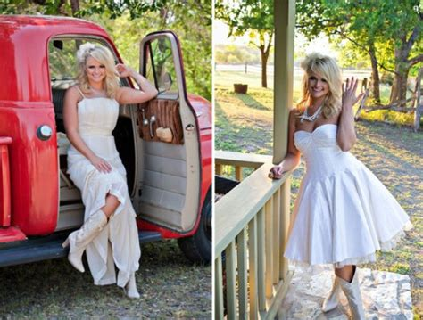 Miranda Dress By Bungas ivory country wedding dresses pictures