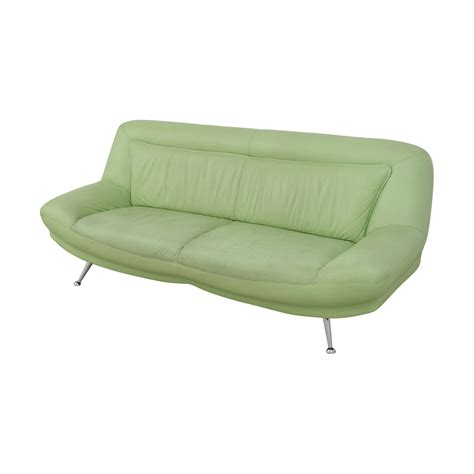 mint green sofa 90 italian mint green leather two cushion sofa sofas