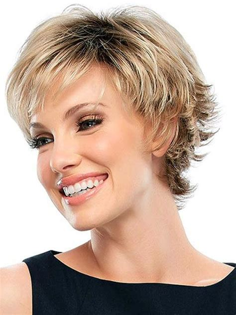 trendy hair styles for wigs 30 b 228 sta bilderna om korta frisyrer p 229 pinterest kort