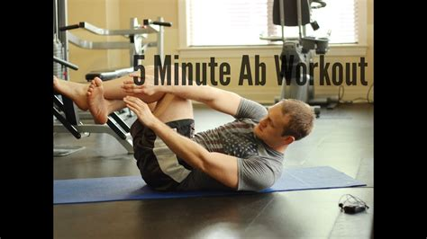 5 minute ab workout lower middle and sculpt burn