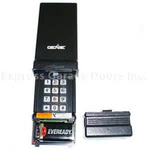 Genie Garage Door Opener Phone Number Genie Digital Wireless Keypad Keyless Entry Gwk Bl Gpwk 12
