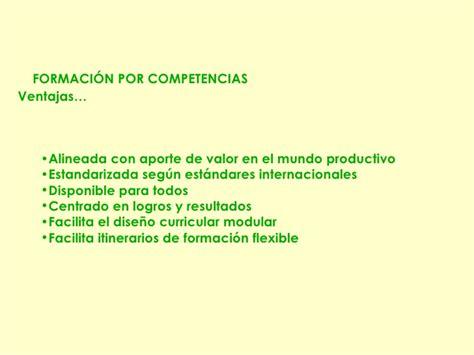 Diseño Curricular Por Competencias Ventajas Planes De Capacitaci 243 N Acordes A Brechas De Competencias Detectadas