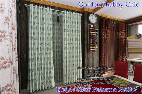 Gorden Balckout Minimalis Sahbyychik Pink gorden shabby chicgorden classic bergaya eropa model