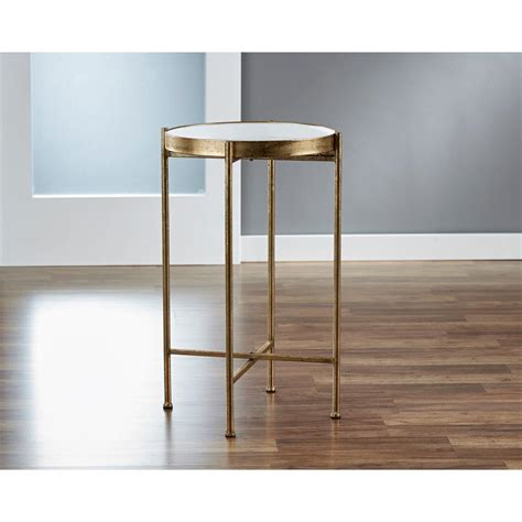 small pop up table innerspace luxury products small gild pop up white tray