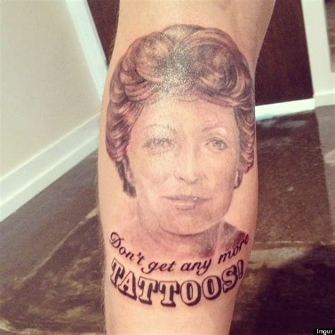 tattoos for grandma teaches a lesson photo huffpost