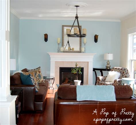 Living Rooms In Blue by Woodlawn Blue Living Room 2 A Pop Of Pretty