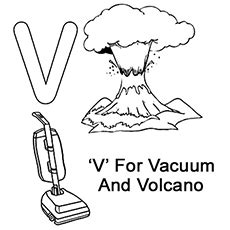 v is for coloring page letter v coloring pages preschool coloring pages ideas