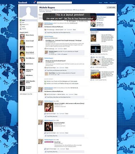 facebook themes change layouts facebook template 49 free word pdf psd ppt format