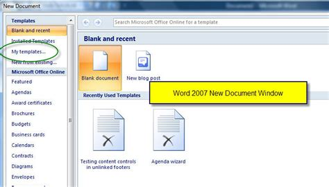 templates in microsoft word one of the tutorials in the