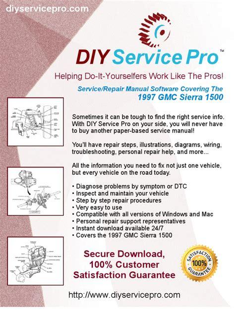 service repair manual free download 1996 gmc 1500 seat position control 1997 gmc sierra 1500 service manual repair manual online software download pickup truck