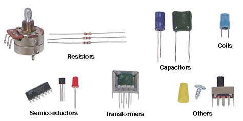 active and passive electronic components electronics