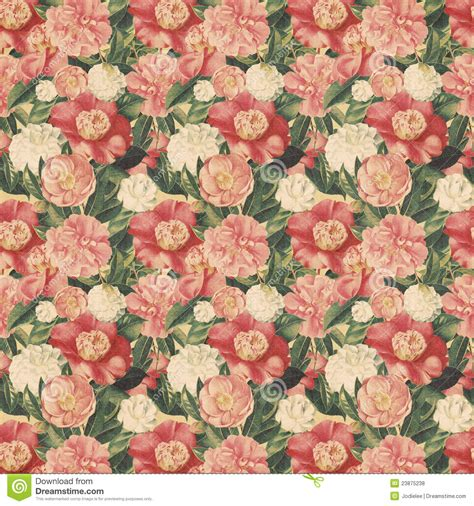 style flower vintage style floral background with pink blooms royalty