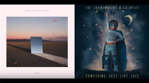 coldplay zedd zedd ft alessia cara the chainsmokers ft coldplay stay