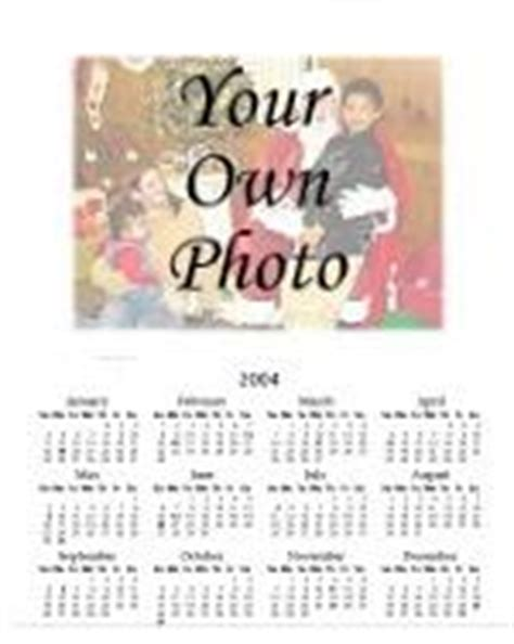 make my own photo calendar free print a calendar