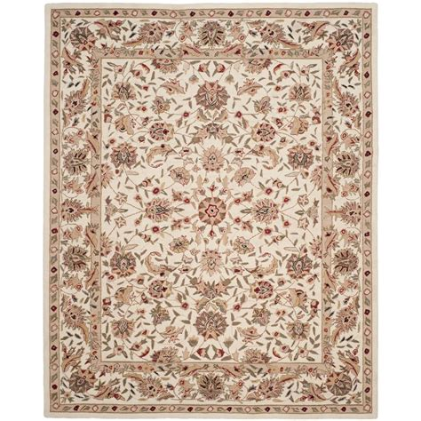 9 x 11 area rug safavieh chelsea ivory 8 ft 9 in x 11 ft 9 in area rug hk78c 9 the home depot