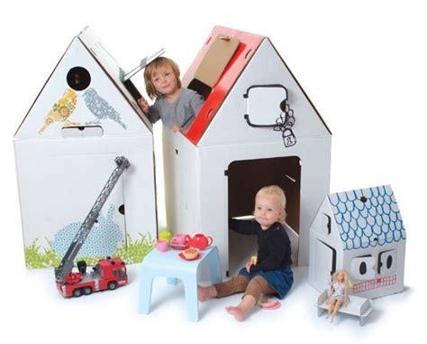 kartonnen huis kartonnen huis voor creatieve kids gimmii dutch design