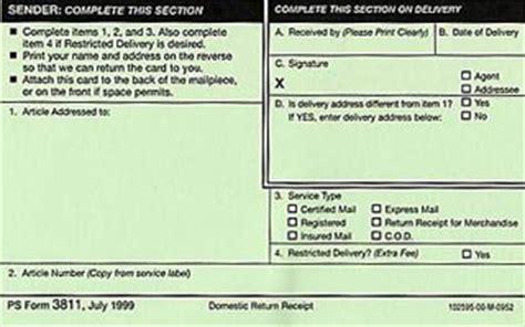 return receipt mail services stony brook university